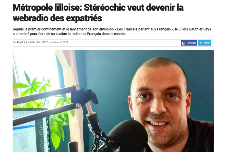 On parle de StereoChic Radio !